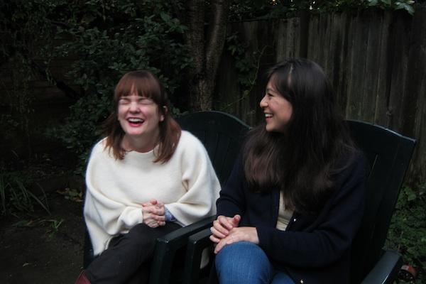 jess and rachel graduates in wonderland