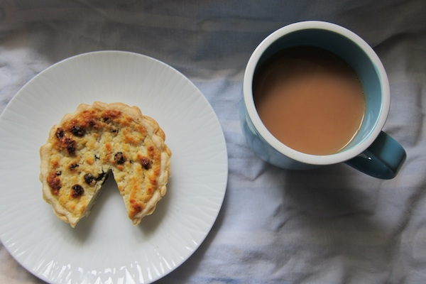 yorkshire curd tart and tea